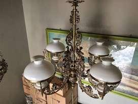 Lampu gantung hias gentor klasik antik repro lampu masjid lampu joglo