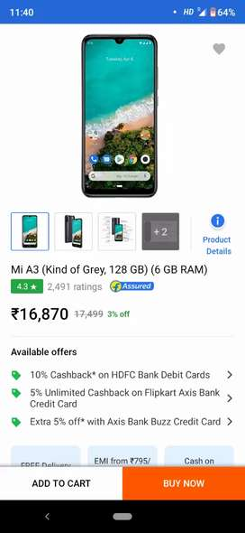 Mobile only 2months used with Bill box and charger