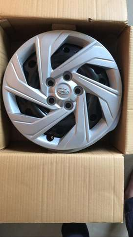 """Creta 2020 16"""" rim with Wheel Cap Set of 4"""
