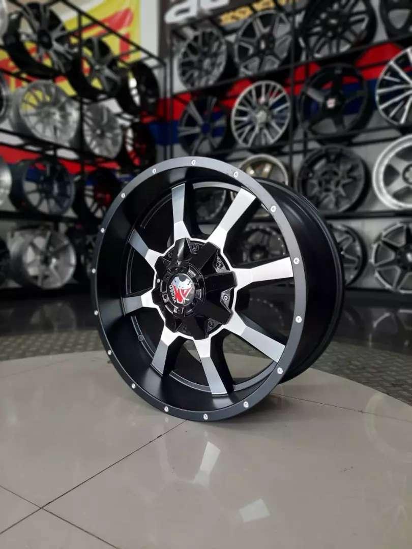 Velg new mamba ma901 r20x9.0 h6x139.7 et18 on Ford everest pajero 0