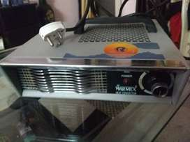One heat convector in brand new condition cost is 3000
