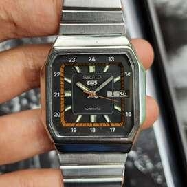 Jam Tangan Vintage Seiko 5 Day date
