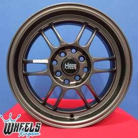 Velg KUMAMOTO HSR R15X65 H8X100-114,3 ET40 wheels kingdom surabaya