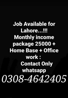 REQUIRED STAFF FOR OFFICE MANAGEMENT AND ONLINE PROJECTS