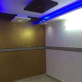A beautiful wide drawing and dinning room with false ceiling 90% Loan