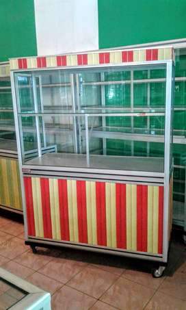 steling Kue-kue dan Jus Lainnya 120x50x165