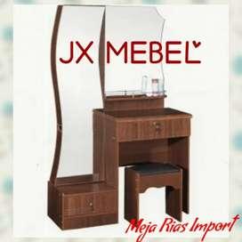 JX MEBEL Meja Rias Import Coklat