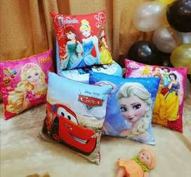 3D Themed Cushion filled with imported ball fibre
