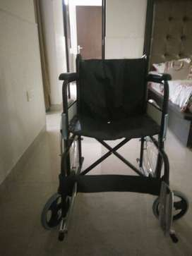 Foldable Wheelchair unused in new condition