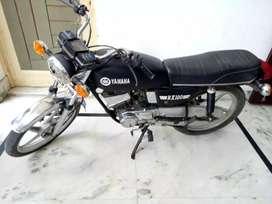 yamaha rx100 all orignal passing valid till dec 2020  tyre like new