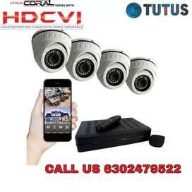 Sale ! CP plus Or Hikvision Cctv Cameras Setup