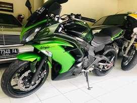 Kawasaki Ninja ER6F thn 2013 moge full paper bstt harley mercedes