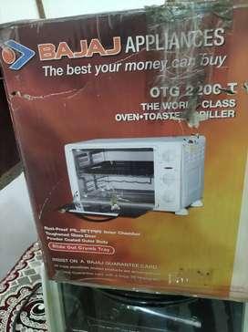 Bajaj All New Oven Toster Griller 2200T