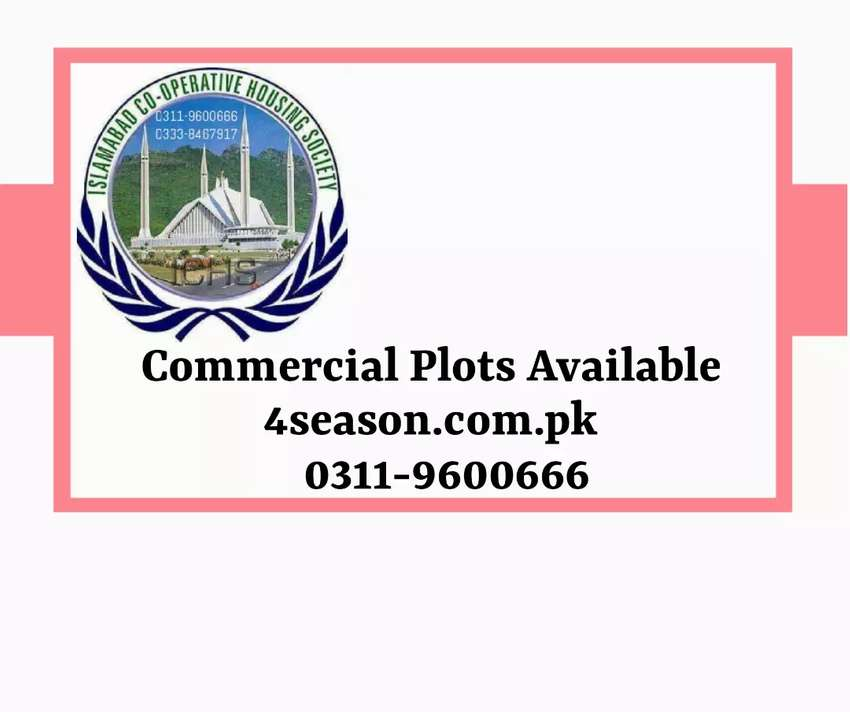 commercial plot for sale ichs town islamabad