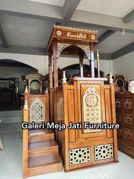 Mimbar masjid agung kubah J569 kode