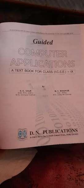 Guided Computer Applications (ICSE IX)