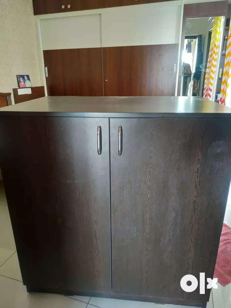 Sandook and medium cupboard 0