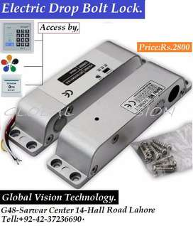 Electronic Frame less glass doors lock