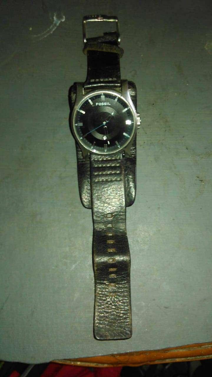 Jam tangan fossil strap cokelat 0