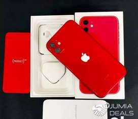 Month and sale on Apple I phone 11 with bill box and acess