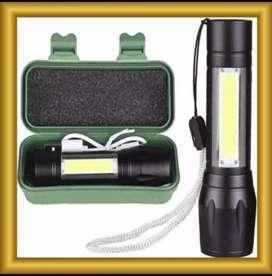 Senter swatt mini zoom senter police LED Cob