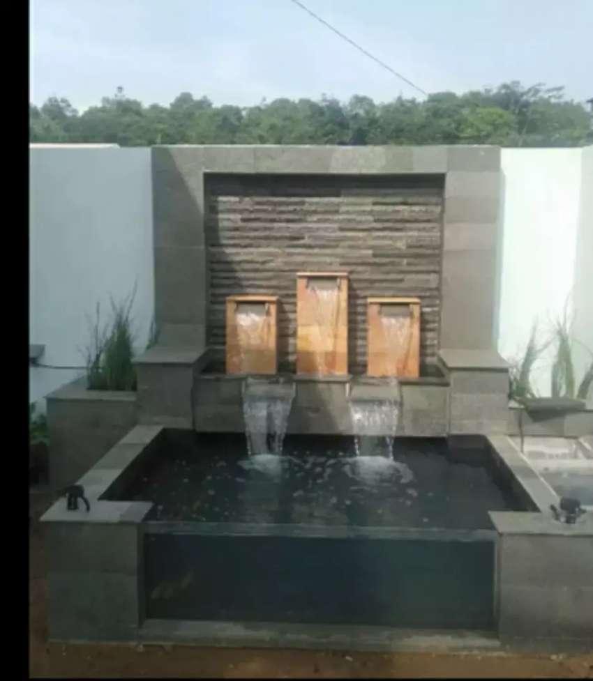 kolam minimalis tukang kolam