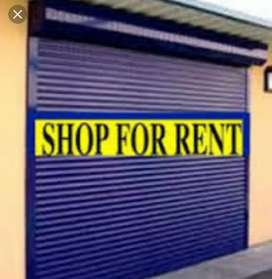 Require shop for rent