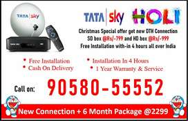 DTH Dhamakha At Holi! Tata sky SD/HD Tatasky, Airteltv, Dishtv Buy Now