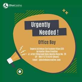 Dibutuhkan Office Boy