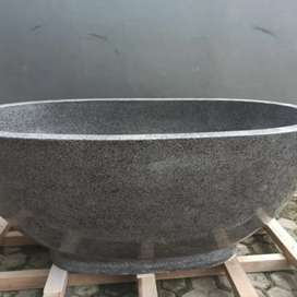 Bathtub Terazzo tipe oval kualitas High Premium