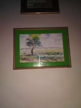 Painting of beautiful scenery