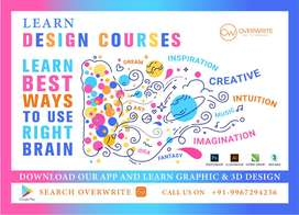 Learn Graphic and 3D Design online and offline