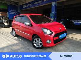 [OLX Autos] Daihatsu Ayla 1.0 X Bensin 2014 MT Merah #MJ Motor