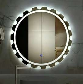 Bathroom vanity mirror/mirror with Led and touch sensor/ glass led