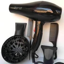 5 in 1 Professional Hair Dryer with 2 nozzles 2 combs and 1 diffuser