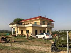 Farmhouse with 500 kanals and fish dam for sale