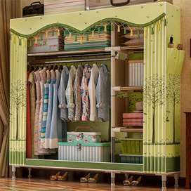 Easy To Install Adult Children's Wardrobe Bedroom Cloth Wardrobe-
