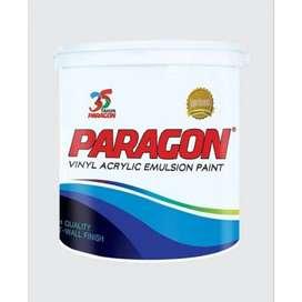 Cat Tembok Paragon Tersedia kemasan1 Kg, 5 Kg, 20 Kg dan 30 Kg