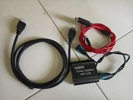 Kabel HDMI dan kabel lainnya