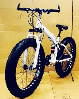 Brand new fat folding cycles