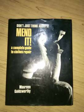 Mend It! A Complete Guide to Clothes Repair by Maureen Goldsworthy