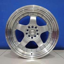 Velg Ring 17 PCD 5X114 & PCD 5X100 HSR Brisket Lebar 8,5/9,5