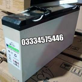 Leoch 12V-150Ah Dry Batteries Made in Singapore