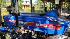 Powertrac Euro 50(including Rotavator,trolley and two nos.of rotavator