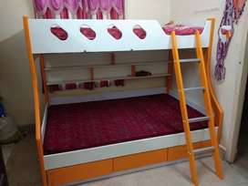 Bunkbed With sleep well mattress for kids