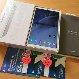 Samsung Tab A7 lite T225 99% baru bonus book cover original garansi