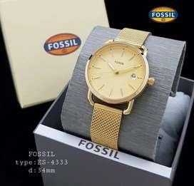 Jam tangan wanita Fossil ES4333 rantai pasir
