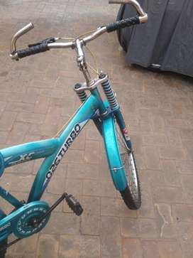 Good condition 1 year used cycle everithing genuine blue colour..