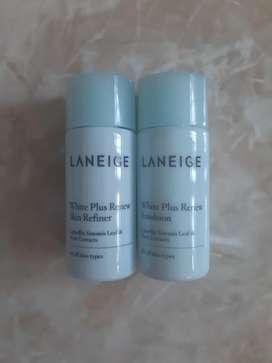 Laneige white plus renew skin refiner + emulsion 15ml
