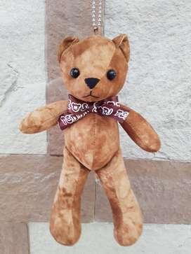 Teddy Bear Safari TESEUM Key Chain ORI Korea | Gantungan Kunci Beruang